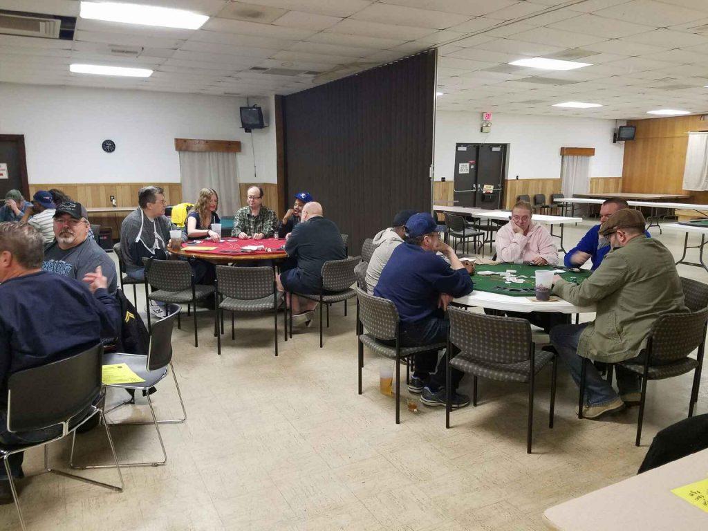 Texas Holdem Poker Tournament Jan  21, 2017 – VFW Post 846